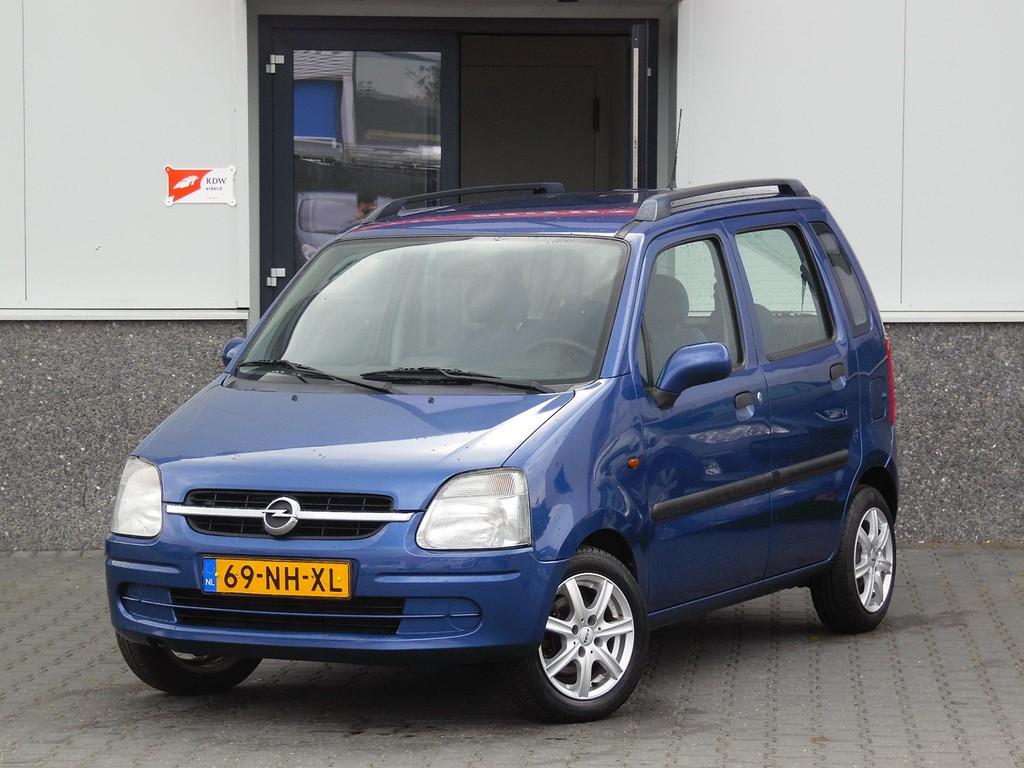 HSV Auto's | Opel Agila 1.2-16V Color Edition KEURIGE AUTO ...